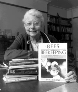 World Bee Day and Eva Crane