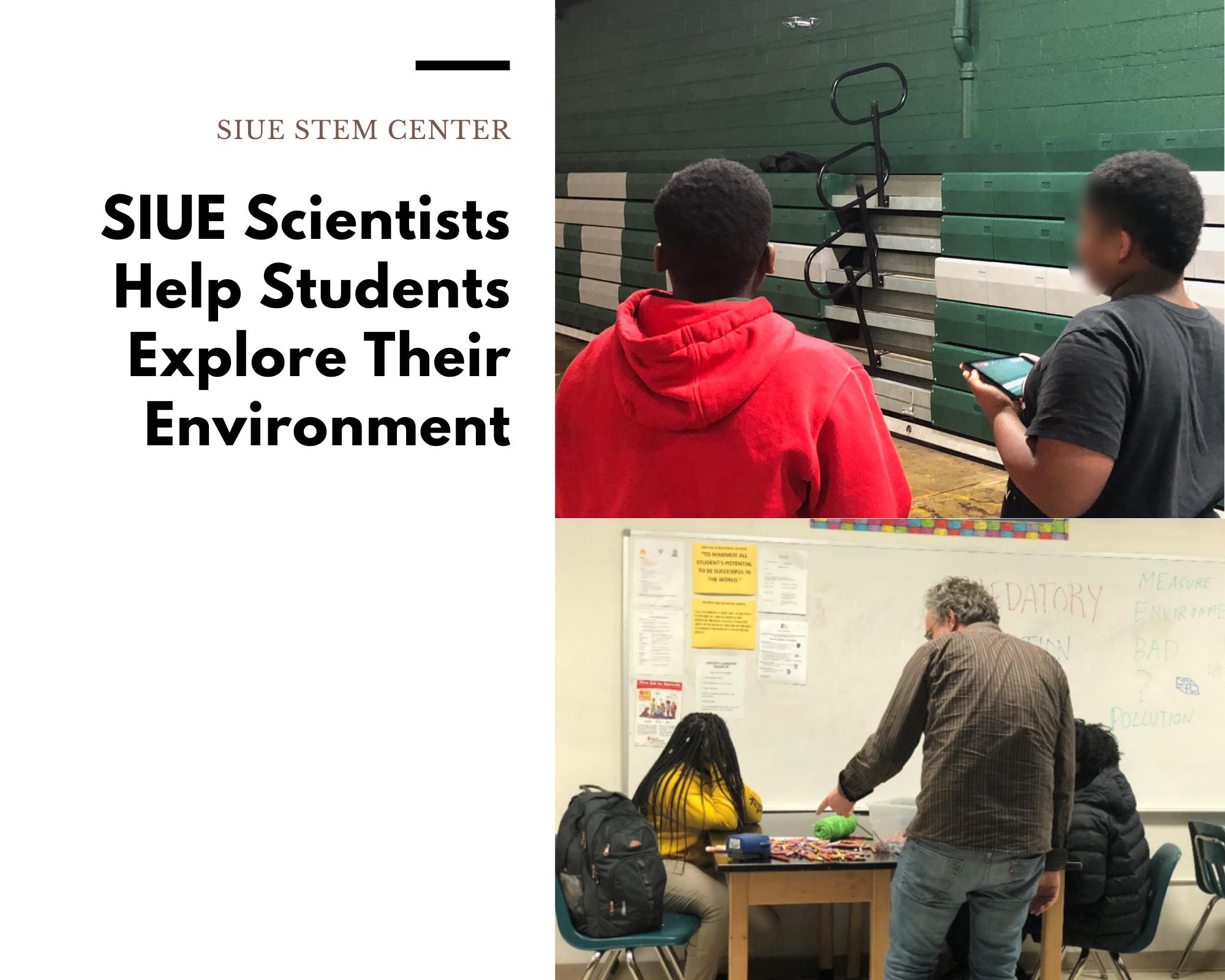 Students Explore Their Environment Through Science