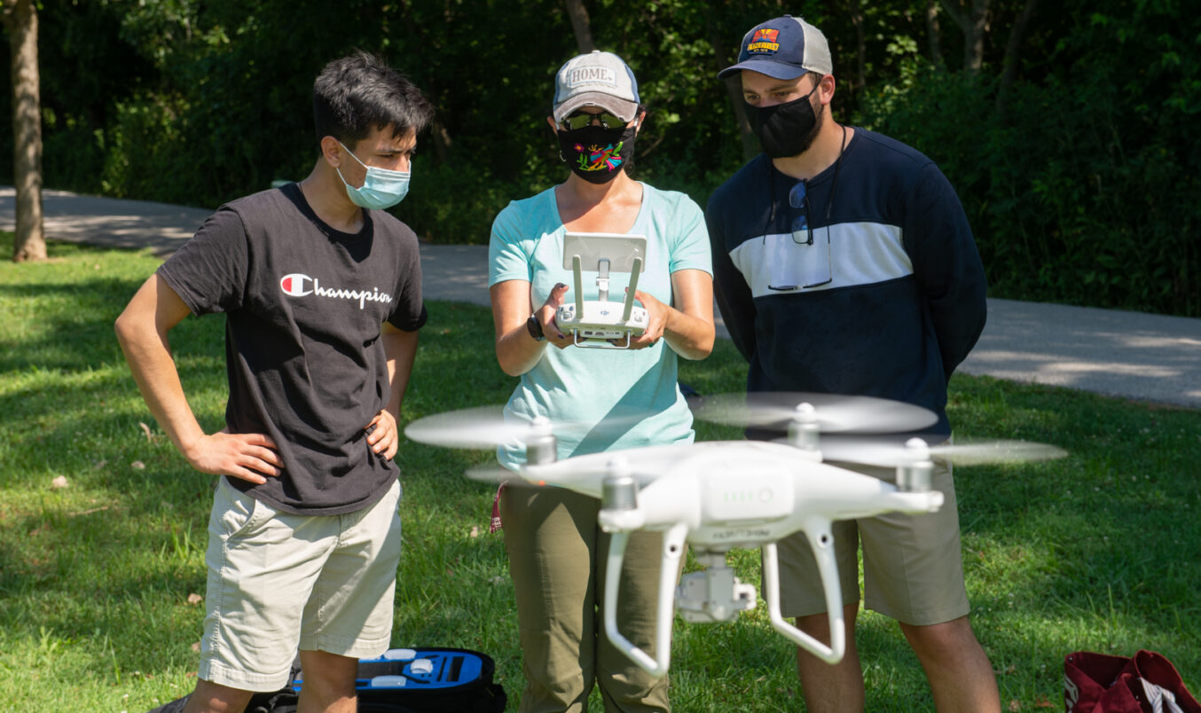 Mapping with Drones